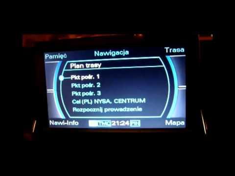 Jak Uruchomić Ukryte Zielone Menu Serwisowe W Audi Mmi Doovi