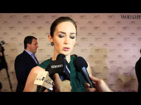 Emirates Woman meets Emily Blunt at the Dubai International Film Festival 2015