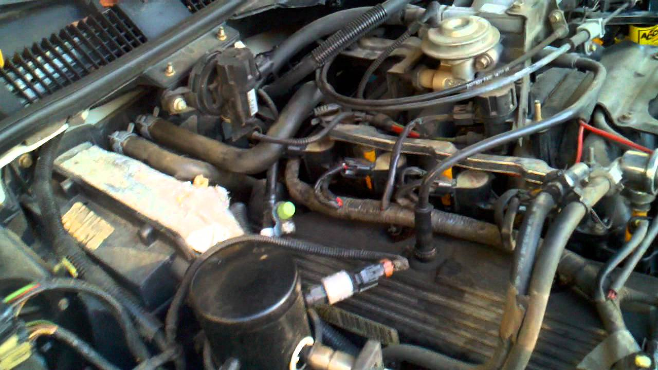 96 F250 Fuel System Diagram 99 Mercury Grand Marquis Ls Under Hood Youtube