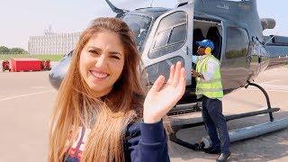 داخت في الهليكوبتر فوق دبي🤢🚁