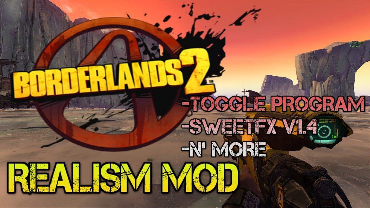 Borderlands 2 скачать моды