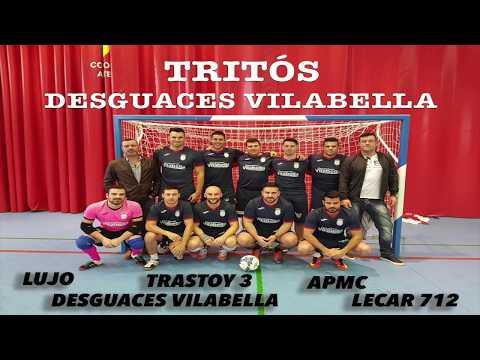 OS TRITÓS DESGUACES VILABELLA  8-0  UB2 GROUP - PUB PLAZA