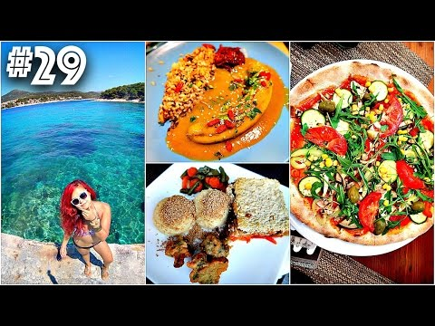 VEGAN FOOD + TRAVEL VLOG (CROATIA) | #29 (30 Videos in 30 Days) ♥ Cheap Lazy Vegan