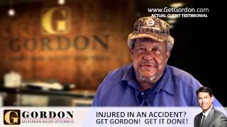 Rear-end Crash | Real Client - Herman Stansberry | Gordon McKernan Injury Attorneys