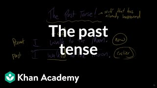 The past tense | The parts of speech | Grammar | Khan Academy