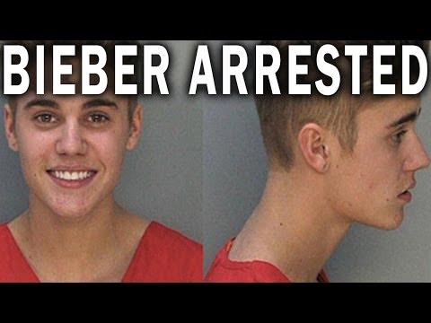Justin Bieber Is Arrested! YAY!