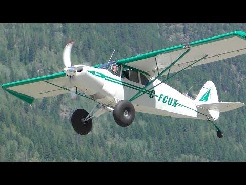 Bellanca 8GCBC Scout & Yukon MT-12 Taildragger Takeoff