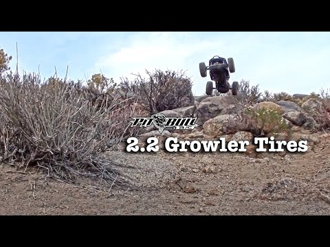 Pit Bull RC - 2.2 Growler AT Tires - Rock Racing - Brushless Axial Bomber RR10