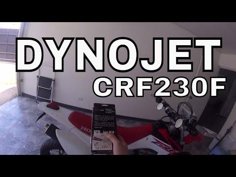 DYNOJET Jet Kit / jetting / carburador / CRF230F - Primeras impresiones