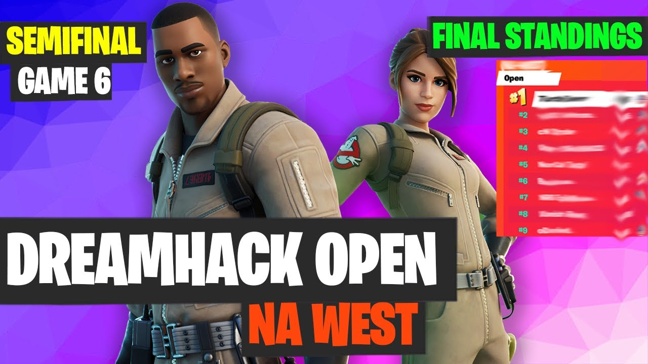 Dreamhack Open NA West Semifinal Game 6 Highlights Final Standings