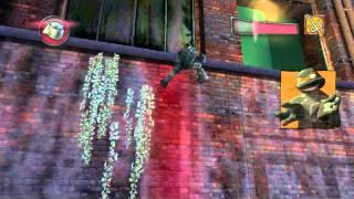 прохождение игры  TMNTGame 2007 часть 2:ночной смотрящий