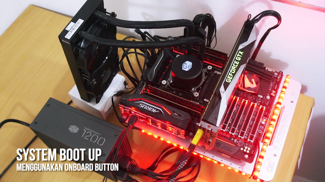 Hands On Motherboard Gigabyte X299 Aorus Gaming 9