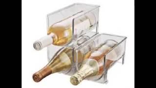 Refrigerator Wine Rack