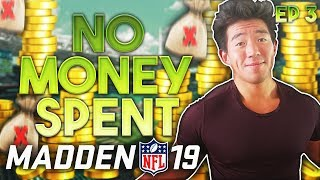 WE GET NEW SUPERSTARS! NO MONEY SPENT EP.3 Madden 19 Ultimate Team thumbnail