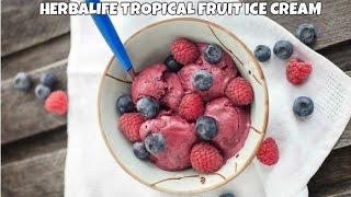 Herbalife Tropical Fruit Ice Cream