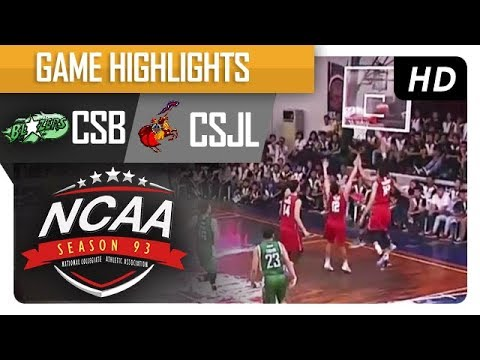 Blazers vs. Letran Knights | NCAA 93 | MB Game Highlights | August 3, 2017