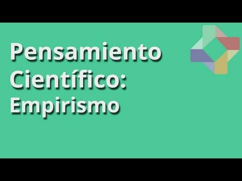 Empirismo - Pensamiento Científico - Educatina