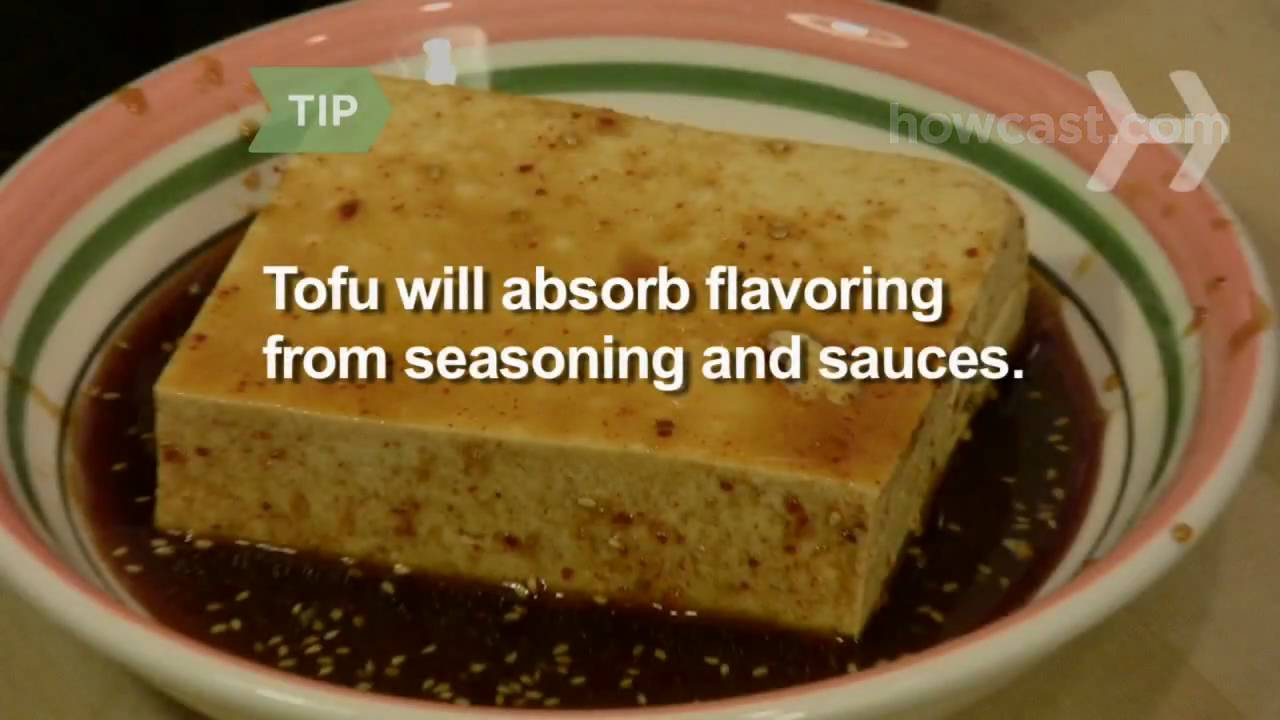 How to make tofu taste like baked chicken