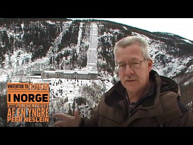 Vintercamping i Rjukan, Norge i en Hobby (2005)