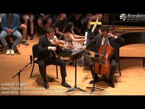 "Haydn: Piano Trio No. 39 In G Major, ""Gypsy"" | Horszowski Trio"
