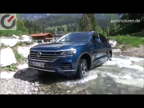 VW Touareg 2018 286 PS TDI Onroad, Offroad, Innovision Cockpit  - Review / Testfahrt