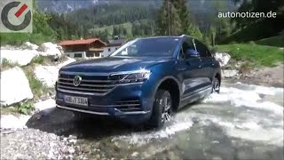 VW Touareg 2018 286 PS TDI Onroad, Offroad, Innovision Cockpit  - Review / Testfahrt