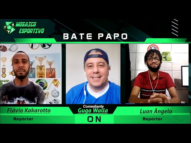 Bate - Papo Modo ON Entrevista com o comediante Guga Walla