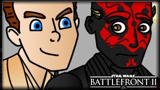 Obi Wan Always Had the High Ground | Star Wars Battlefront 2 Animation