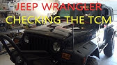 TCM problems - Jeep Wrangler TJ - codes P1603 P1604 P0700 - YouTube