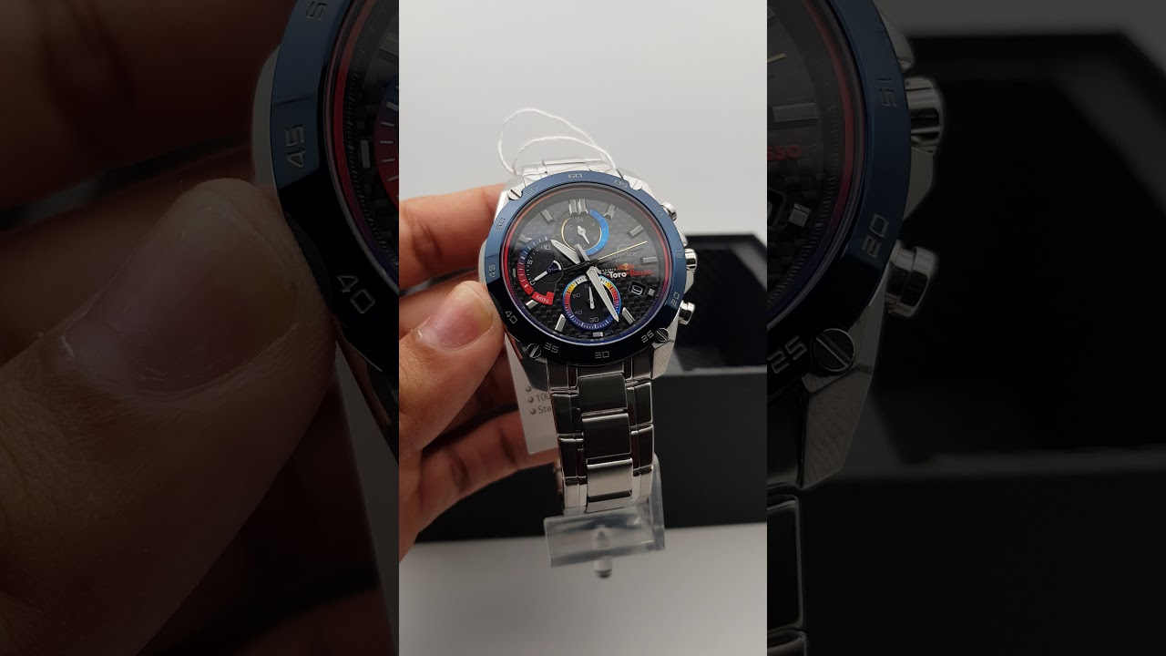 9b0a95c85bfa EFR-557TR-1A CASIO EDIFICE TORO ROSSO - YouTube