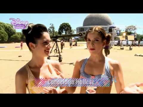 Violetta -  En Mi Mundo Backstage!