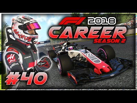 F1 2018 Career Mode Part 40: TRYING TO WIN THE DRIVERS TITLE IN STYLE!