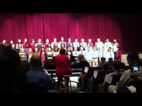 Choir performance @ niskayuna high school