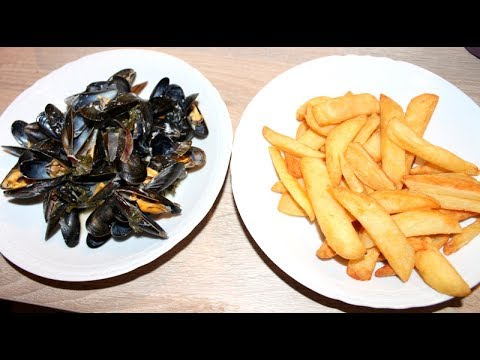 cookeo: moules marinières & frites - youtube