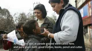 Aasraa for streel and slum children A documentary by Khushboo Dua Part 2