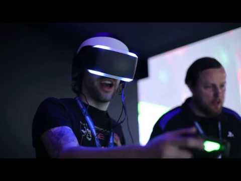 Découverte du PLAYSTATION VR - Le casque RV de SONY