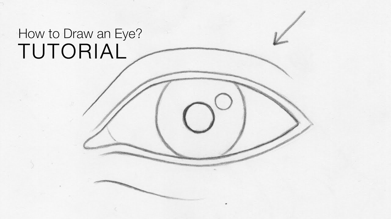 Howtodraweye drawing eye