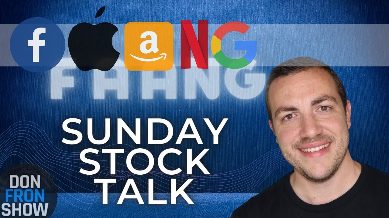 Stock Market Technical Analysis l FAANG Stocks in trouble?! l Sunday Stock Talk