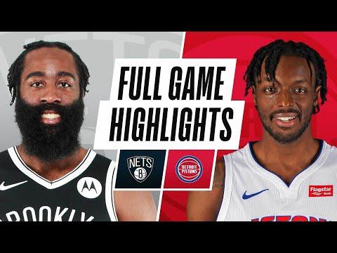 Game Recap: Nets 113, Pistons 111