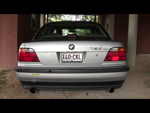 BMW 750il, Making music with a German V12