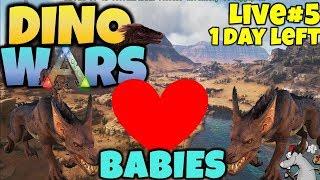 ARK DINO WARS #5 RAVAGER BABIES