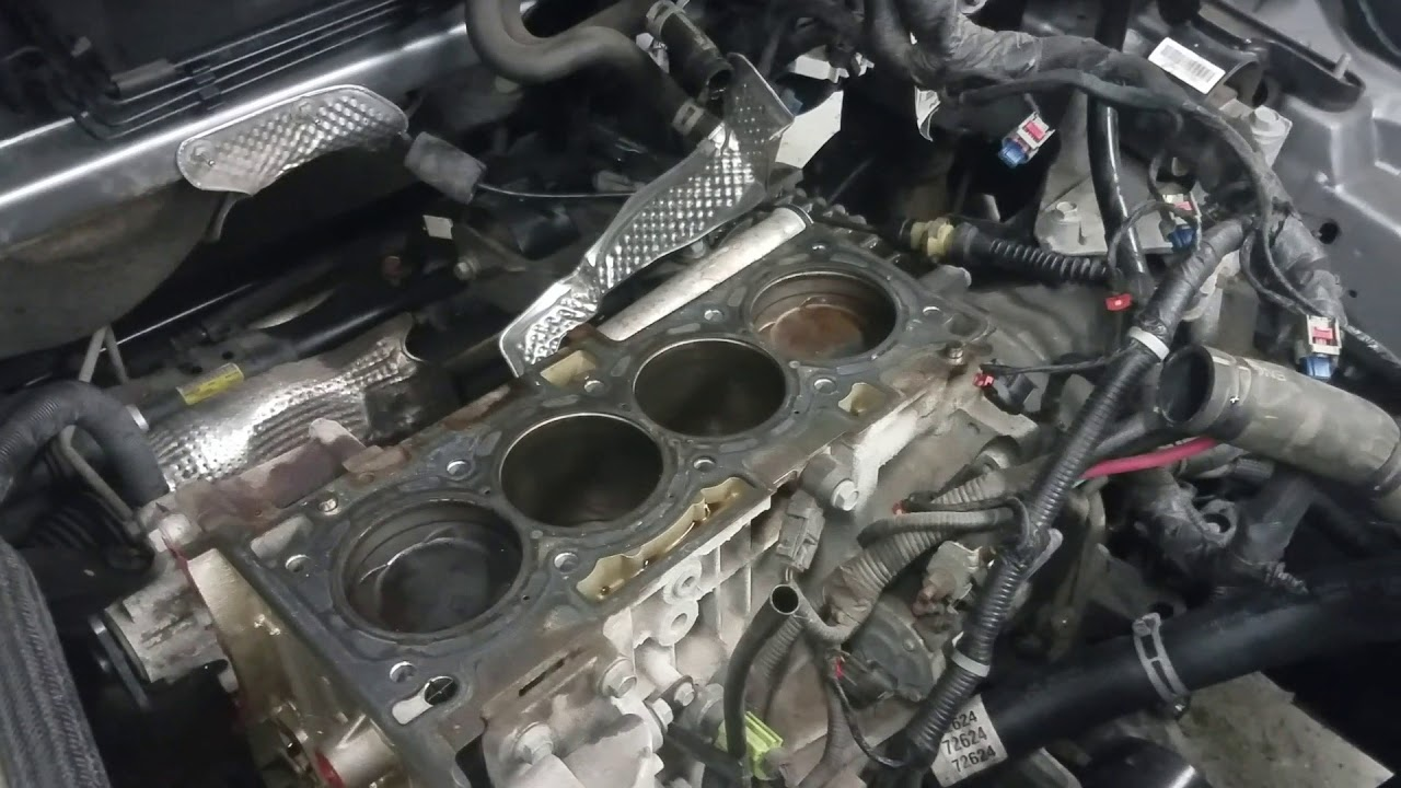 2013 dodge avenger 2 4l headgasket removal engine id ed3 [ 1280 x 720 Pixel ]