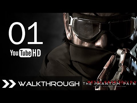 Metal Gear Solid 5 The Phantom Pain Walkthrough Gameplay Part 1 - PC 1080p 60FPS No Commentary