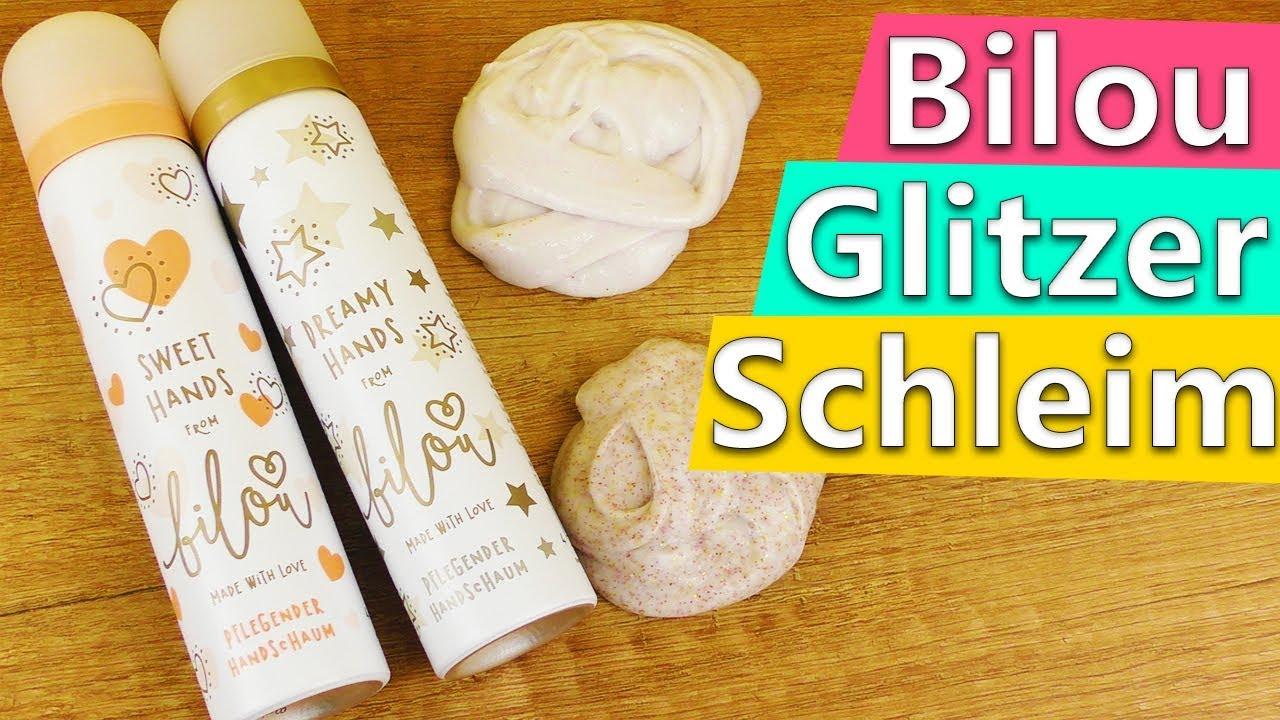 Bilou DIY Glitzer Schleim | 2 einfache Ideen für schönen Glitzer ...
