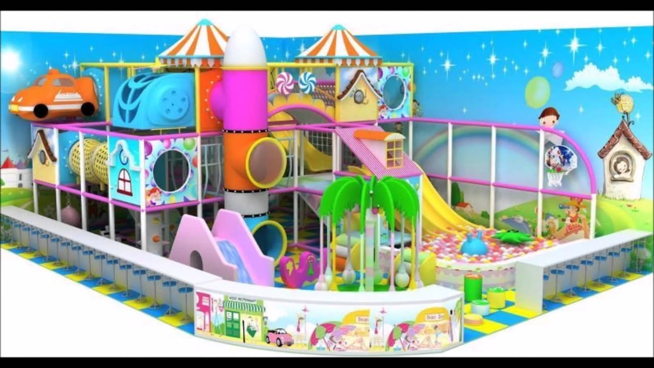 Indoor playground design 0 100 m2 2015 new youtube for Indoor playground design ideas