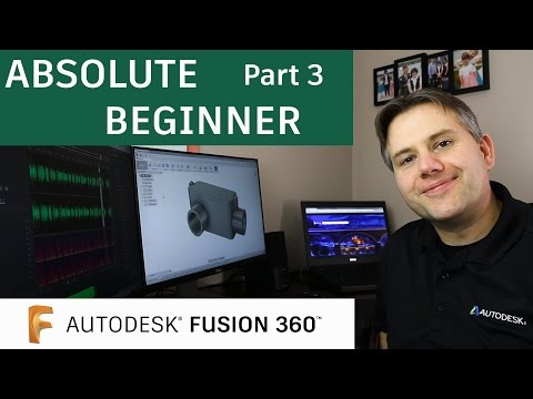 Fusion 360 Tutorial for Absolute Beginners— Part 3