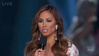Miss USA 2016 Top 3 Answer A Question