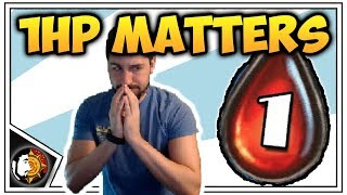 Hearthstone: 1 HP MATTERS - Bomb Warrior - Rise Of Shadows