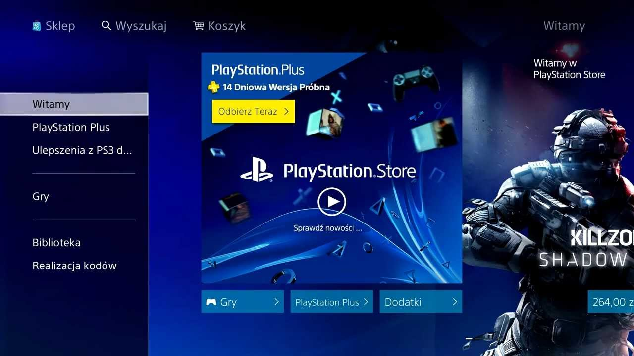 ps4 store