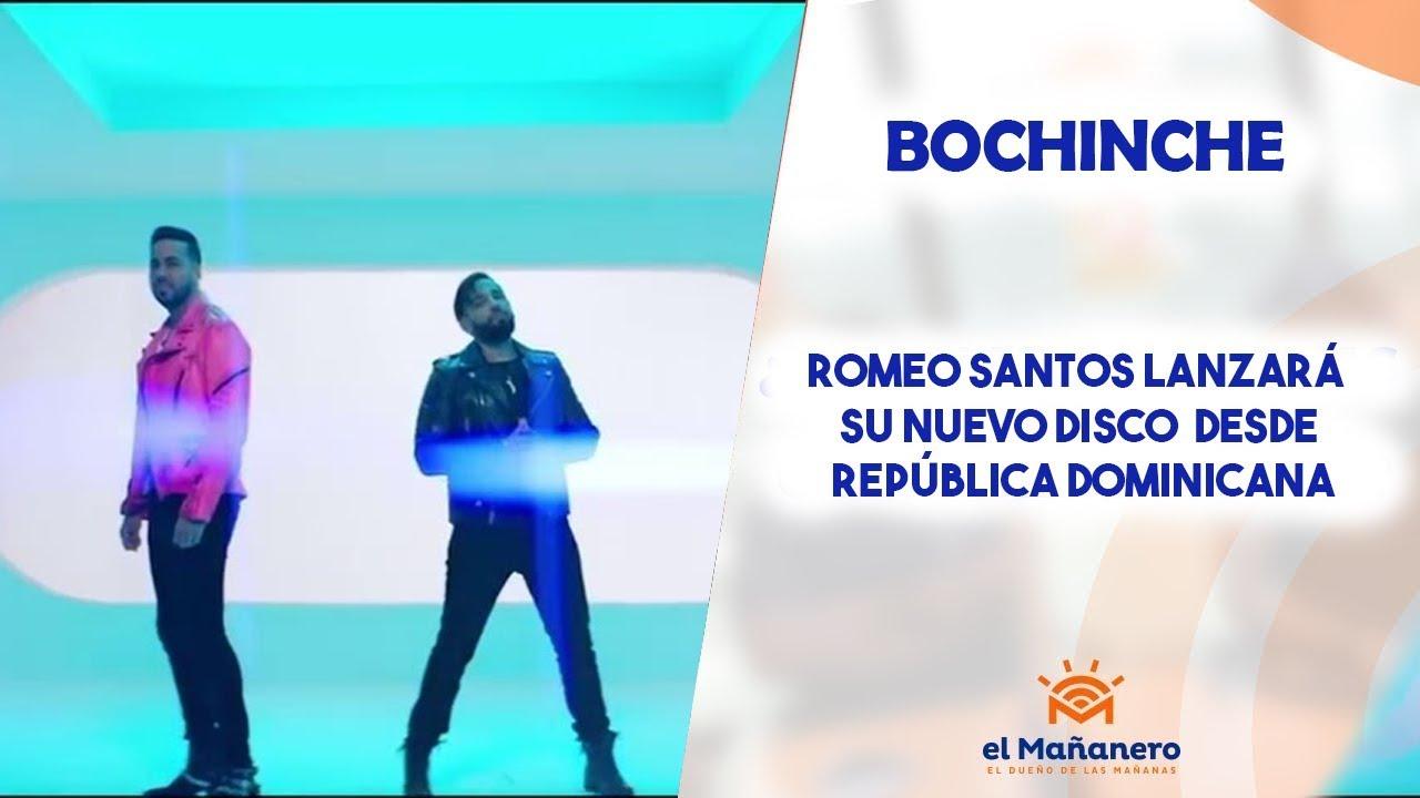 Romeo Santos lanzará su nuevo disco desde República Dominicana